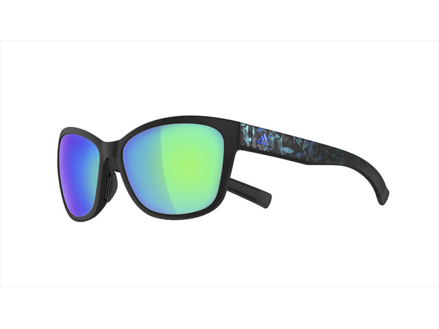adidas Excalate Glasses black matt/floral blue